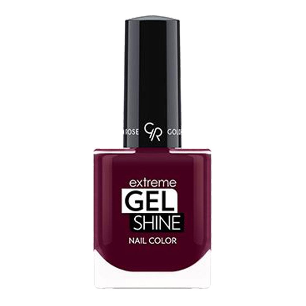 Golden Rose Extreme Gel Shine Nail Color - Bordeaux rode nagellak 70 - Online - Langhoudend