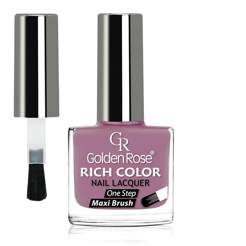 GOLDEN ROSE Rich Color paarse nagellak 104, 10,5 ml.