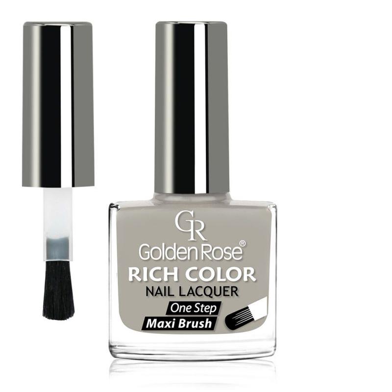 GOLDEN ROSE Rich Color grijze nagellak 113, 10,5 ml.