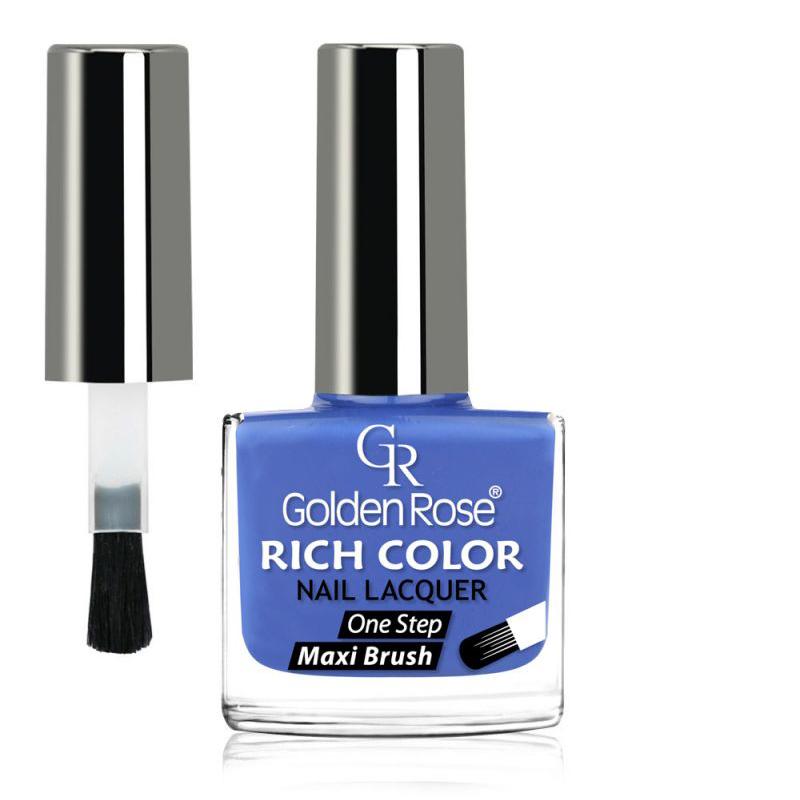 GOLDEN ROSE Rich Color blauwe nagellak 49, 10,5 ml.