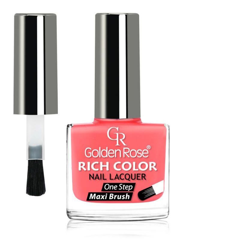 GOLDEN ROSE Rich Color roze nagellak 50, 10,5 ml.