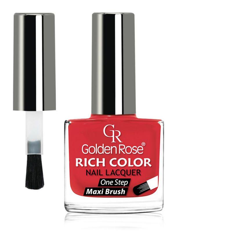 GOLDEN ROSE Rich Color rood nagellak 61, 10,5 ml.