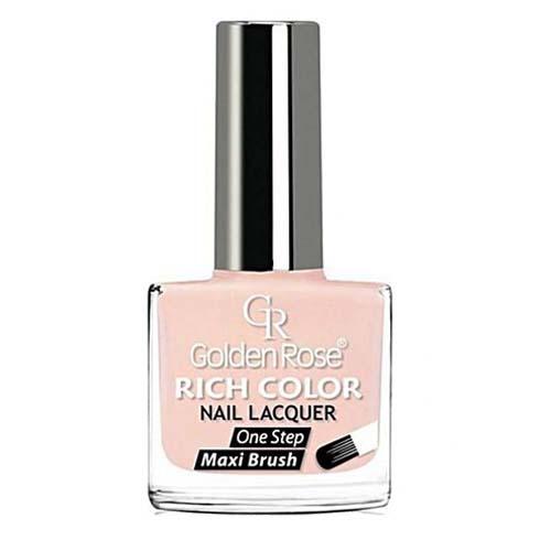 GOLDEN ROSE Rich Color nude nagellak 72, 10,5 ml. Nude kleur nagellak, die het beste bij uw huidskleur past!