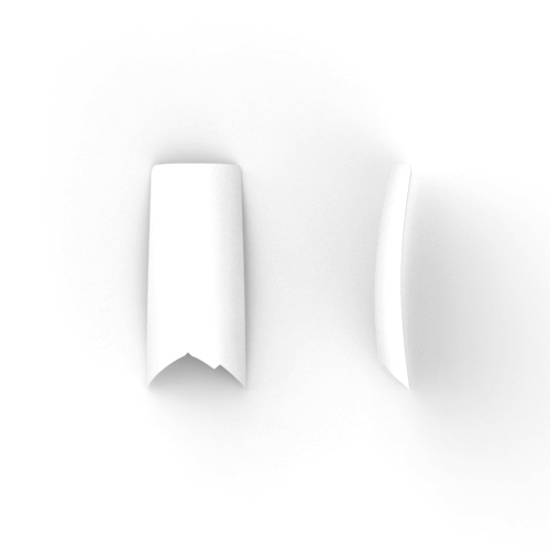 100 stuks, VLAM nail tips in een nail box.
