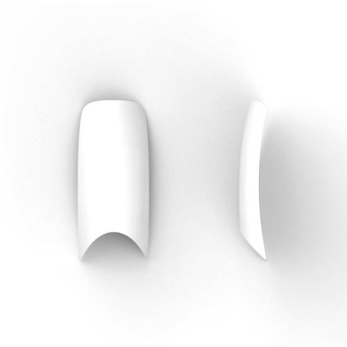 100 stuks, french nagel tips met diepe smile-line in een box.