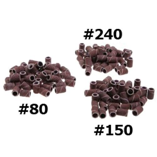Schuurrolletjes set - passend op mandrel van nagel frees - 75 stuks