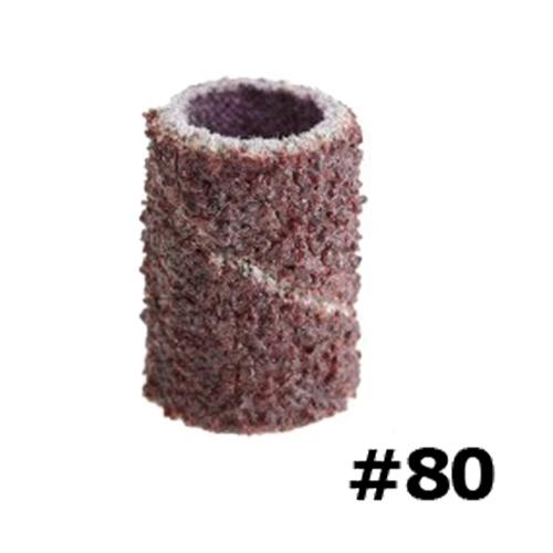 Nagelfrees schuurrolletjes # 80: 25 stuks