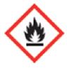 Symbool: ontvlambare stoffen.